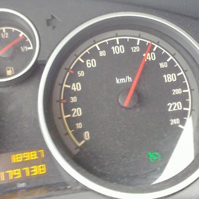 130 km per uur
