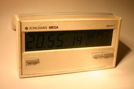 Jungerhans Mega alarm1 wekker