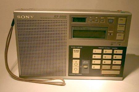 Sony ICF2002 wereldontvanger