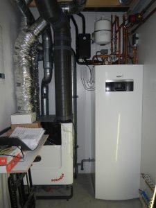 Warmtepomp, balansventilatie, elektrische installatie